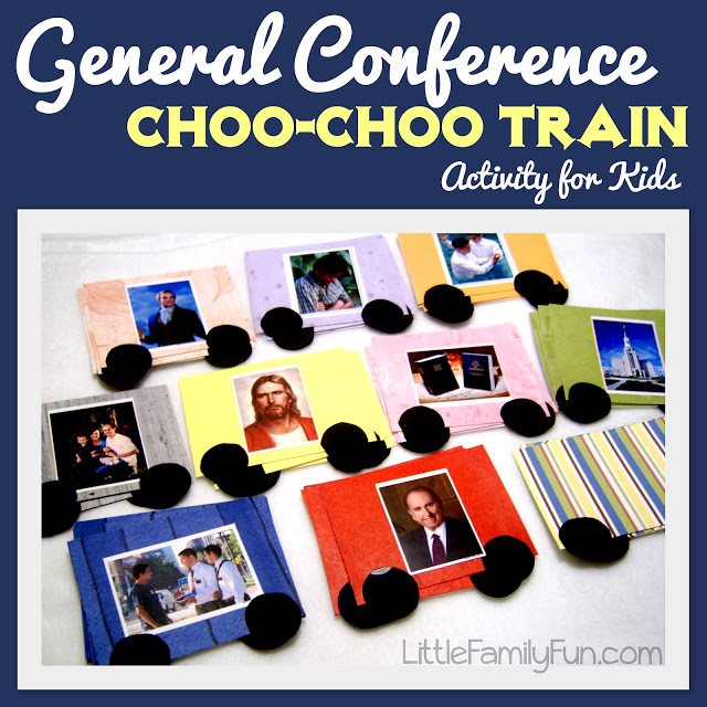 10 General Conference Activities for the Whole Family! by popular Utah blogger Dani Marie
