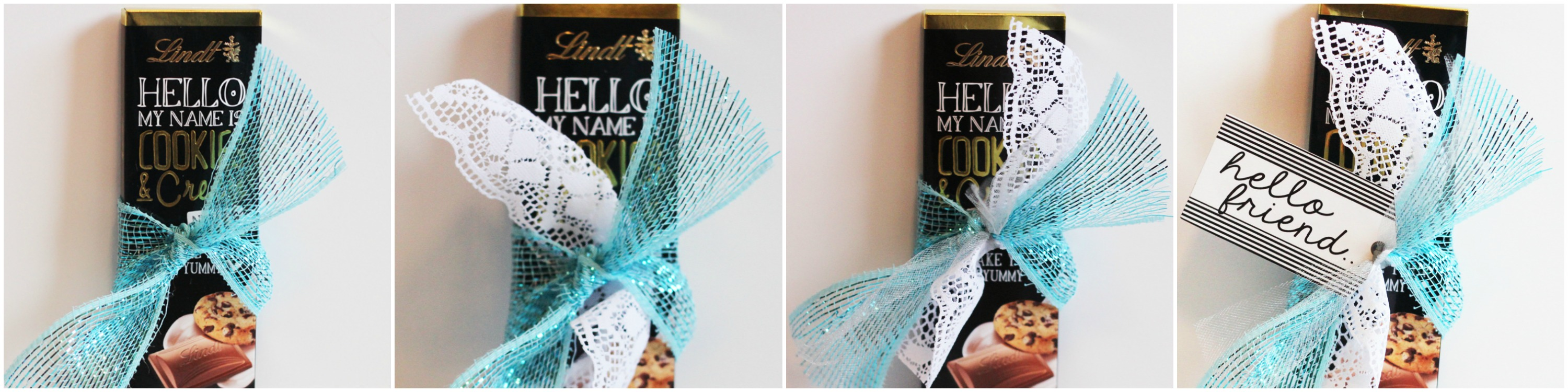Lindt Hello Collage