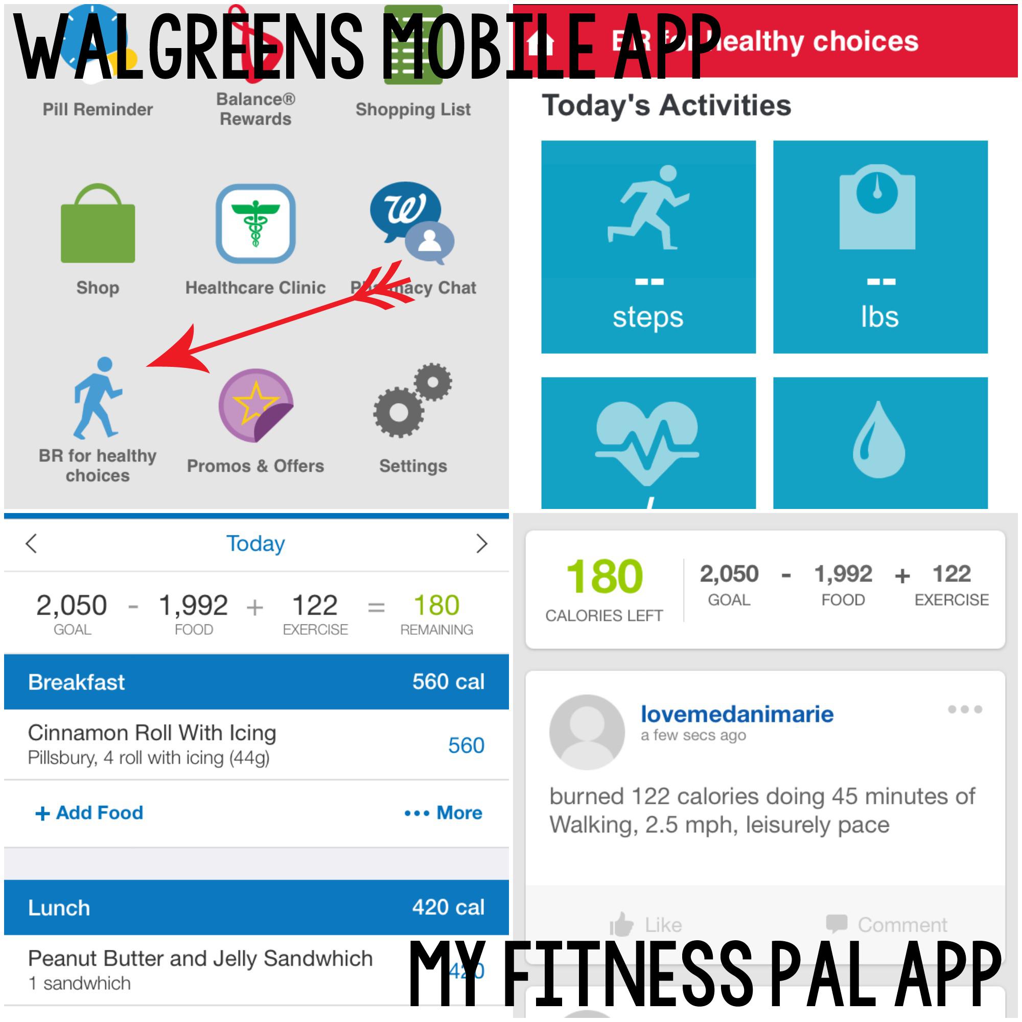 Walgreens Screen Shots