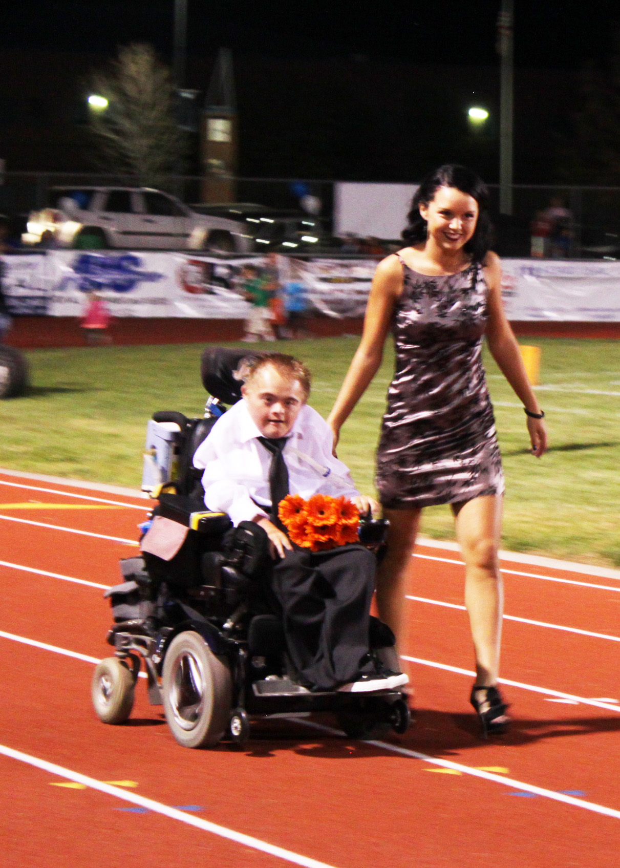 Matt & Maddie Homecoming Game 3