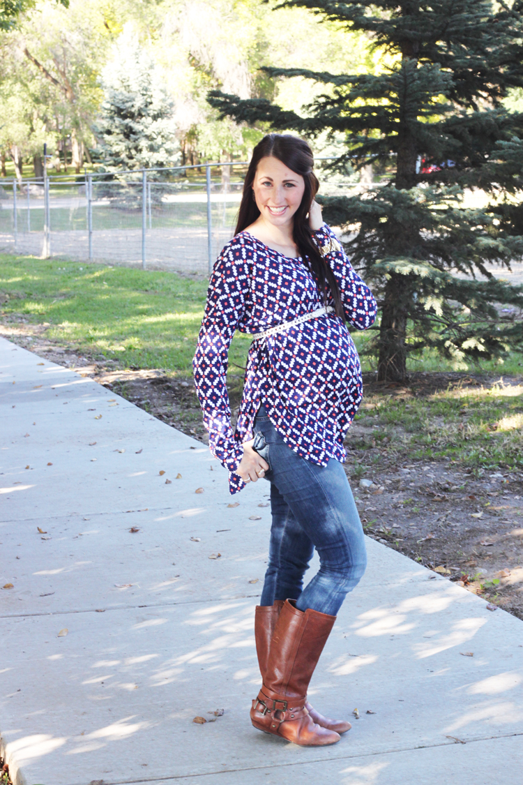 Patterned-Maternity-Top-3